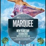 Marquee – New Years Day 2013