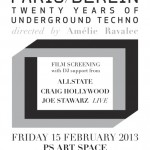 Paris/Berlin, 20 years of underground techno