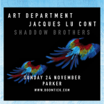 Art Department + Jacques Lu Cont @ Parker
