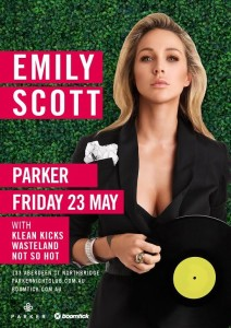 Win! Double passes to Emily Scott @ Parker