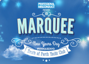 Marquee New Years Day